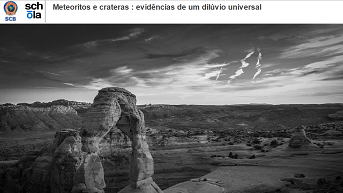 Meteoritos e crateras : evidências de um dilúvio universal
